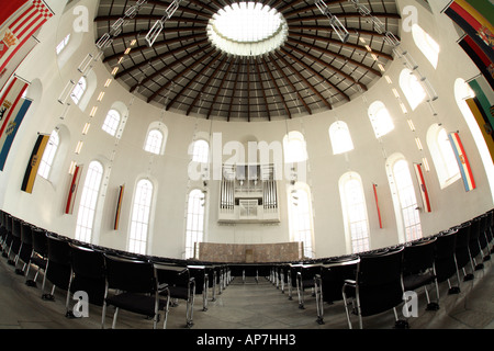 View inside Paulskirche Frankfurt - Stock Photo
