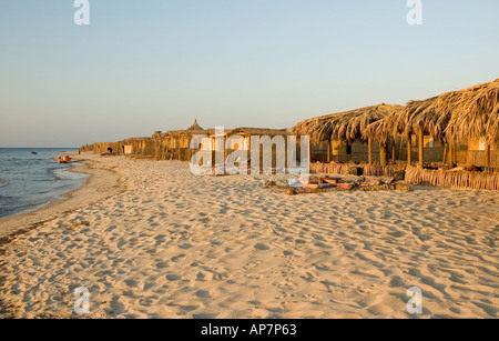 Cheap accomodation on the beach between Nuweiba and Taba, Gulf of Aqaba, Red Sea. DSC 4778 - Stock Photo