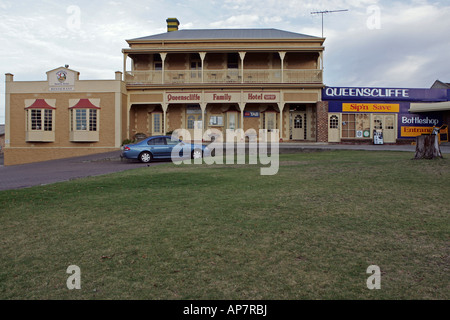 Queenscliffe family hotel, Kingscote, Kangaroo Island, South Australia, Australia - Stock Photo