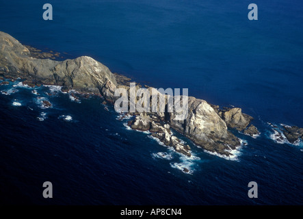 rock formations, landscape, Magdalena Bay, Baja California Sur State, Mexico - Stock Photo