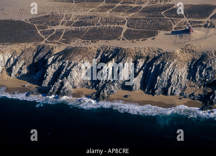 Beach, landscape, Magdalena Bay, Baja California Sur State, Mexico - Stock Photo