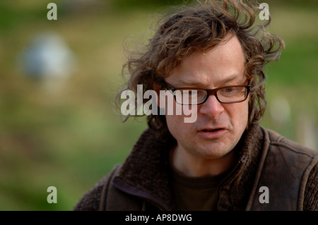 Hugh Fearnley Whittingstall pictured at Park Farm near Axminster Devon - Stock Photo