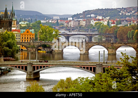 Prague - the capital of the Czech Republic - Stock Photo