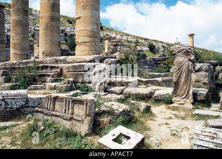 Temple of Apollo, Cyrene, Libya - Stock Photo