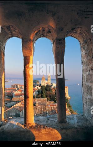 Rab Rab Island Croatia - Stock Photo