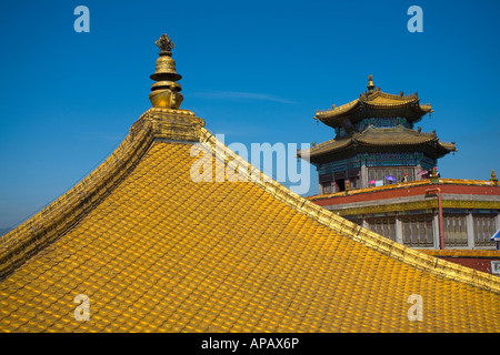 Architectures in the Temple of the Potaraka Doctrine Chengde - Stock Photo