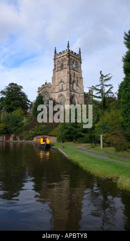 Kidderminster Parish Church - Stock Photo