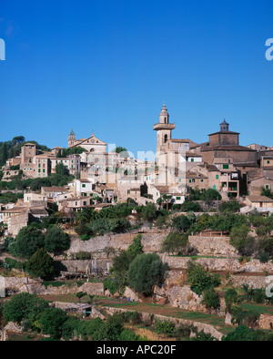 Valldemosa Majorca Balearics Spain - Stock Photo