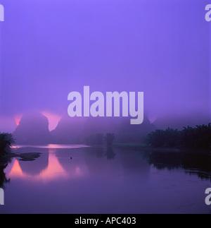 Li River Guilin Guang xi - Stock Photo