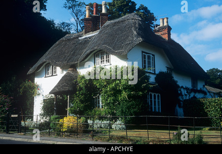 Beehive Cottage at Swan Green, Lyndhurst, the New Forest National Park, Hampshire, England, UK - Stock Photo