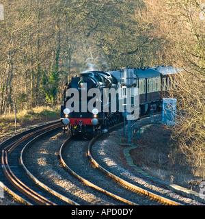 Sr Merchant Navy Class Steam Locomotive No 35028 Clan Line