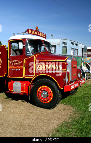 Scammell Showmans Tractor - Stock Photo