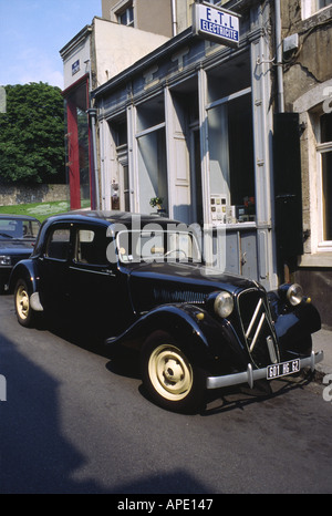 Citroen Car 1930s to 1940s Boulogne France Europe - Stock Photo