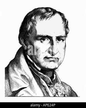 Buch, Christian Leopold von, 26. 4.1774 - 4.3.1853, German geologist, portrait, steel engraving, 19th century, Artist's Copyright has not to be cleared