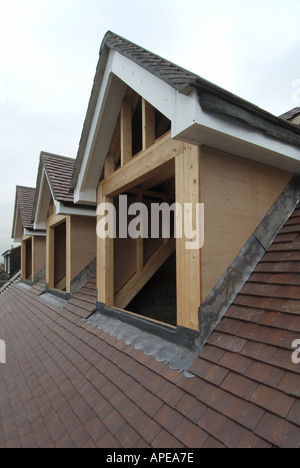 Detached House Roof Covering Of Marley Concrete Plain