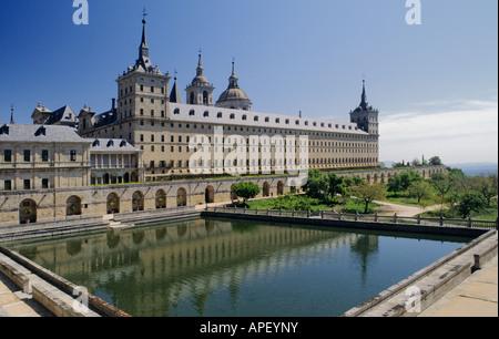 Spain El Escorial Monastery - Stock Photo