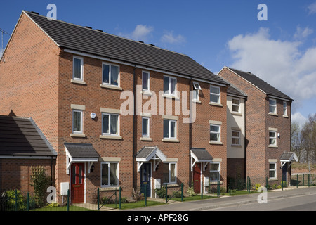 Mews Style Houses, Misterton and Retford, Nottinghamshire Architect: Spawforth Associates - Stock Photo