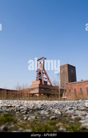 Essen Germany shaft 1/2/8 part of Zeche Zollverein - Stock Photo