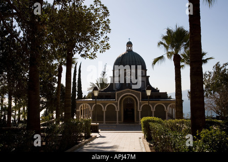 Stock Photo of The Church on The Mount of Beatitudes - Stock Photo