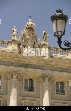 Palacio Real Madrid Spain - Stock Photo