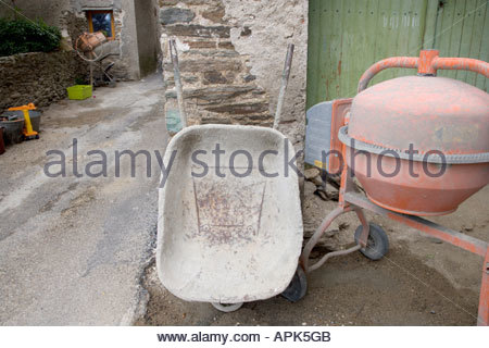 local construction site - Stock Photo