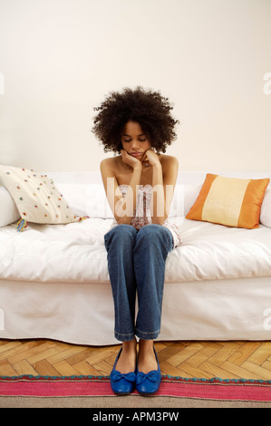 Young woman portrait - Stock Photo