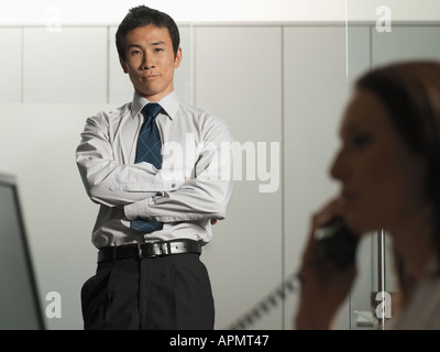 Office manager - Stock Photo