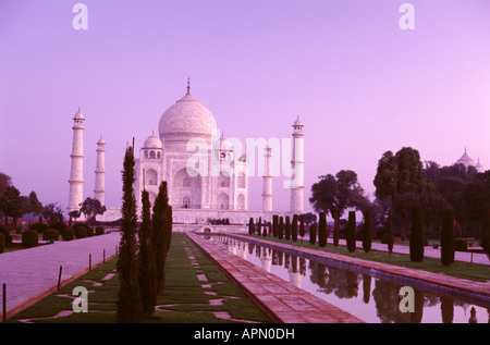 Agra, Taj Mahal, Uttar Pradesh, Northern India, Asia - Stock Photo