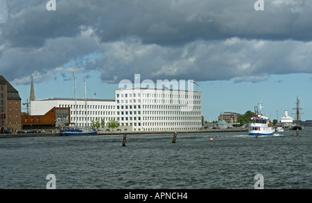 World Headquarters of shipping company A P Moller - Maersk at Nordre Toldbod in Copenhagen