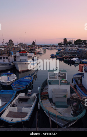 Aci Trezza Harbor, Sicily - Stock Photo