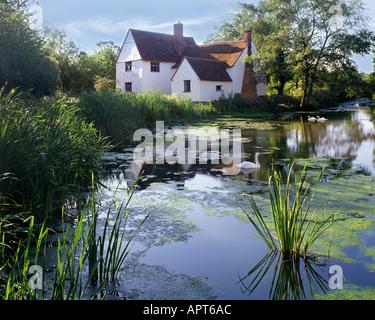 GB - SUFFOLK: Willy Lotts Cottage near Manningtree - Stock Photo