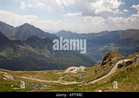 Champoluc Val d Ayas Valle d Aosta Italy - Stock Photo