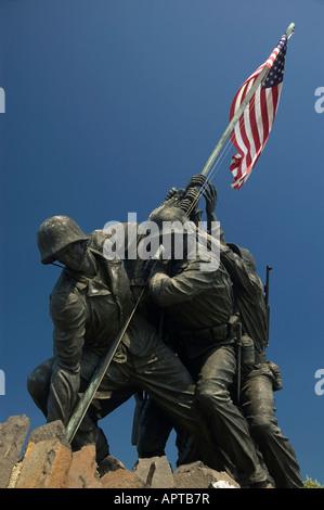 Marine Corps War Memorial Arlington National Cemetery USA