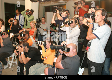 Miami Florida Design District Funkshion Fashion Week Miami fashion photographers - Stock Photo