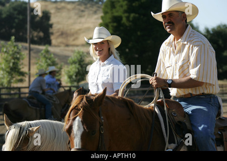 COWBOYS,CALIFORNIA,US,USA - Stock Photo