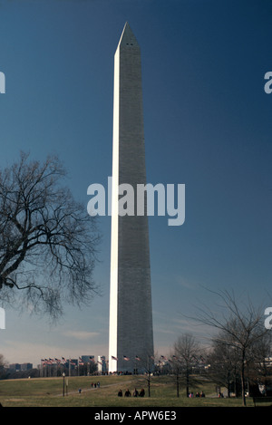 Washington D.C. Nation's Capital Mid Atlantic Washington Monument - Stock Photo