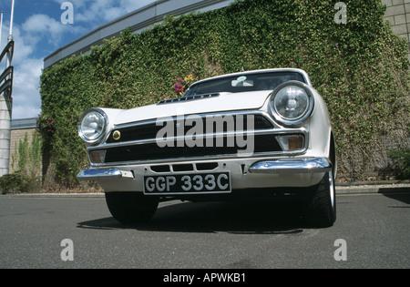 Ford/Lotus Cortina MK1 of 1965. Built 1963 to 1966 - Stock Photo