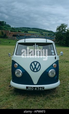 Volkswagen Kombi (splitty) of 1965 - Stock Photo