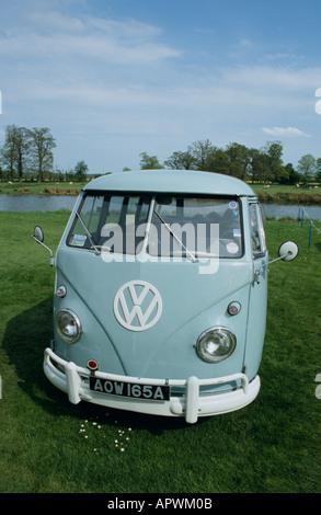 Volkswagen Kombi (splitty) of 1963 - Stock Photo