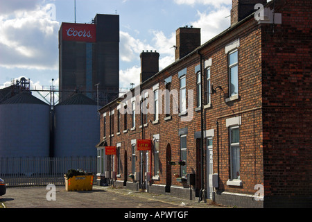 The Coors Brewery, Burton upon Trent, Staffordshire, England - Stock Photo