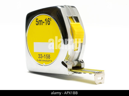 Steel Tape measure - Stock Photo