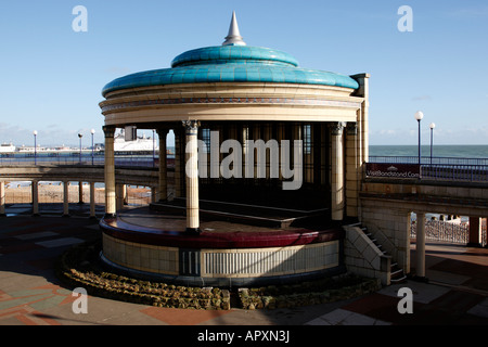 eastbourne bandstand opened in 1935 grand parade eastbourne east sussex england uk - Stock Photo