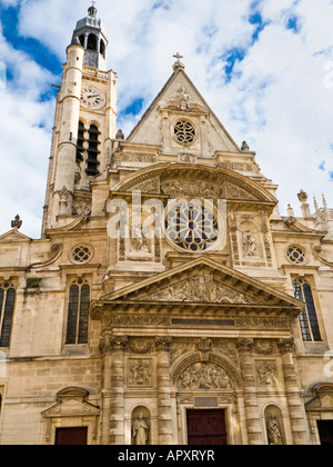 Saint Etienne du Mont church, Paris, France, Europe - Stock Photo