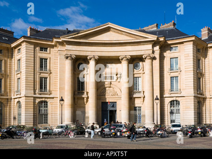 Universite de Paris, Faculte de Droit, Paris, France, Europe - Stock Photo