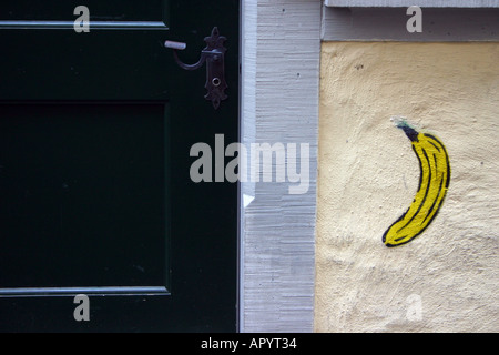 This Is Not A Banana Grafitti Stock Photo 309793212 Alamy