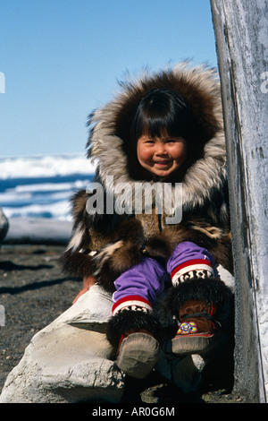 Inuit And Girl Stock Photos &amp- Inuit And Girl Stock Images - Alamy