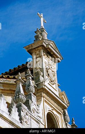 Wall detail, La Mezquita Cathedral, Cordoba, Spain - Stock Photo