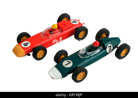 Two 1960's Tri-ang Scalextric racing cars