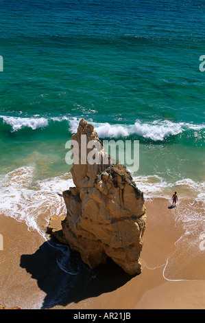 Praia da Rocha, Algarve, Portugal - Stock Photo