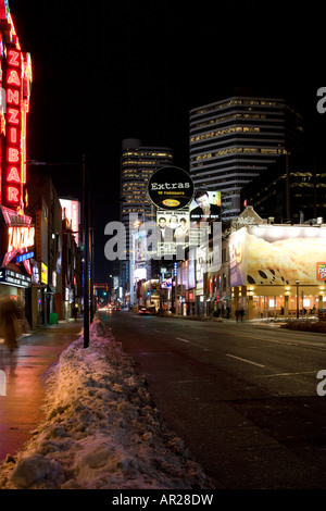 Yonge Street - Toronto - Ontario - Canada - Stock Photo